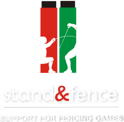 Stand & Fence - Support for Fencing Games by OXIF